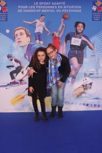 Soirée FFSA Dec 14 avec sa jeune soeur