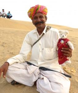Dans le désert du Rajasthan