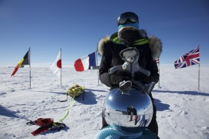 En Antarctique avec Stéphanie et Jérémie : les aventures de Poupougne
