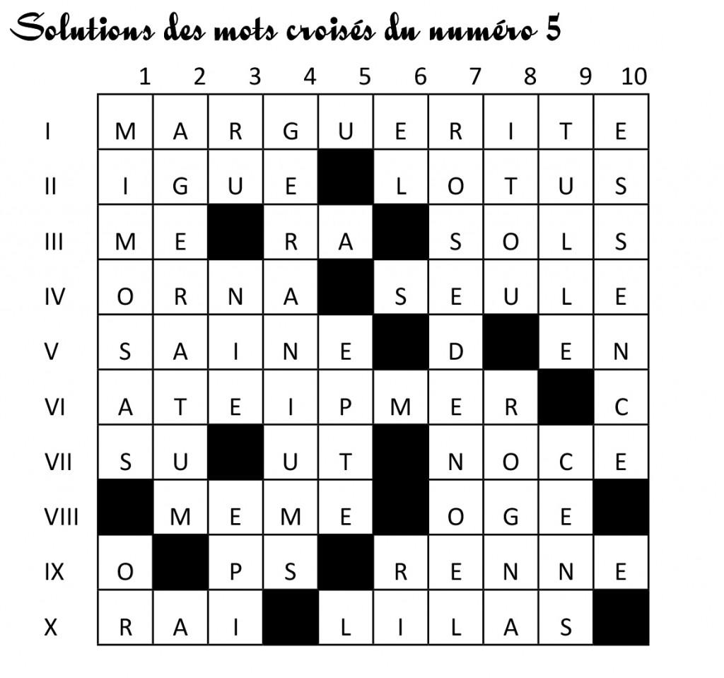 SolutionsMotsCroises