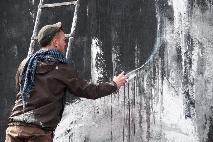 La Rouille : juste peintre