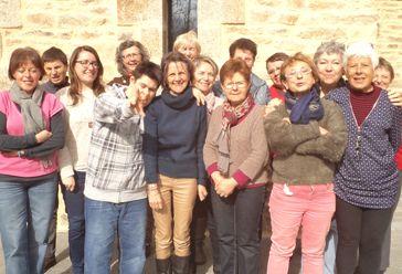 Groupe atelier cuisine CIAS d'Allaire