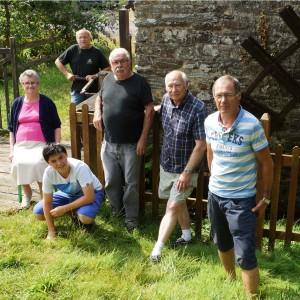Au moulin de la Fosse avec Prune