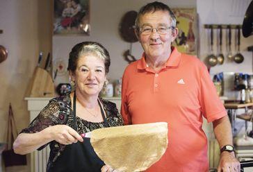 Marie-Annick Penhouët et Jean-Paul Flèche