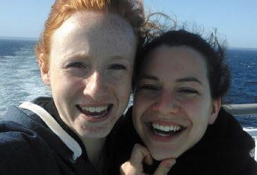 Emma et Mélanie