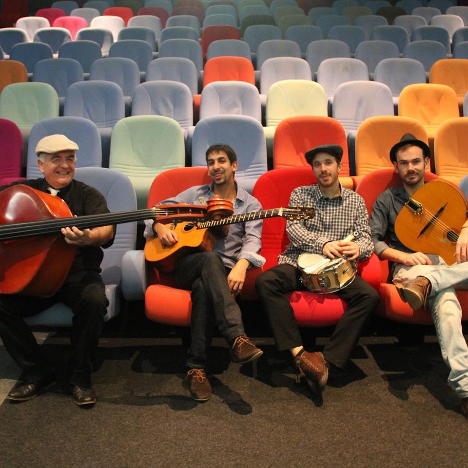 Les Chalmel Brothers Band et leur jazz manouche