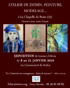 Exposition peintures et dessins à Manivel @ Ciné Manivel