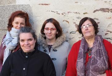 Christèle, Aurélie, Aurélia et Sylvie