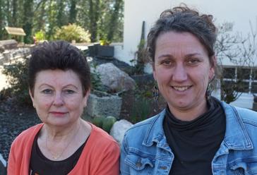 Rosane et Marie-Madeleine