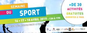 Semaine du Sport 2019 @ Maison des Associations de Redon