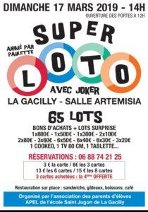 Super loto @ La salle Artémisia