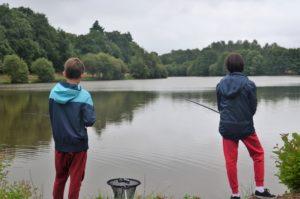 Initiation pêche en étang @ RDV Office de Tourisme