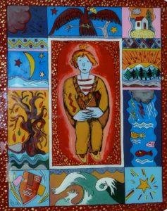 Exposition de peintures de René-Claude Girault @ Médiathèque