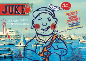 Concert #3 Juke, le ténor de BREST de 4 à 99 ans! @ CREPERIE DU MOULIN DE JUZET