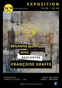 Béganne Collection Ming rencontre Françoise Graffe @ Salle des arts