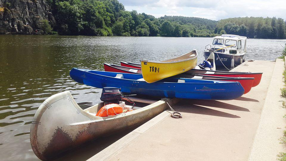 canoe Apache bihan kayaks ile aux pies