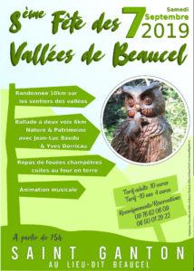 8ème Fête des vallées de Beaucel @ Lieu dit Beaucel