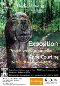 Exposition : 1200 lieux de légende en Bretagne @ Médiathèque