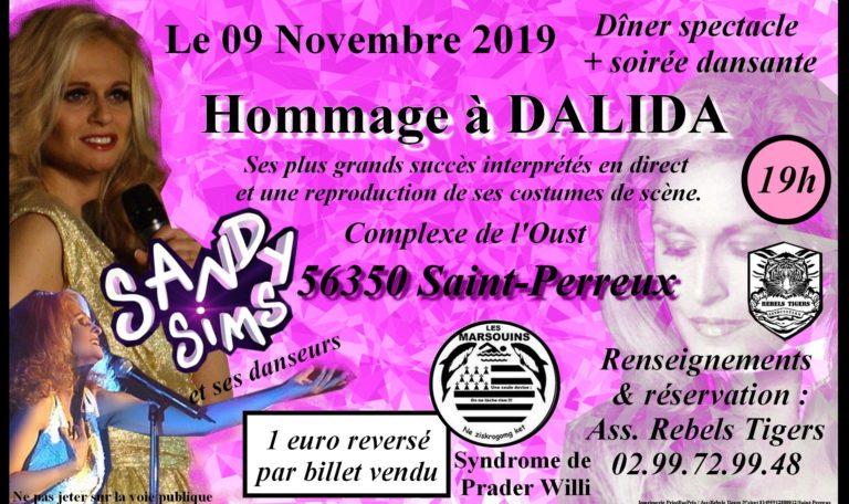 Dîner-spectacle hommage à Dalida @ Complexe de l'Oust