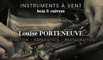 Louise Porteneuve (réparatrice d'instruments)