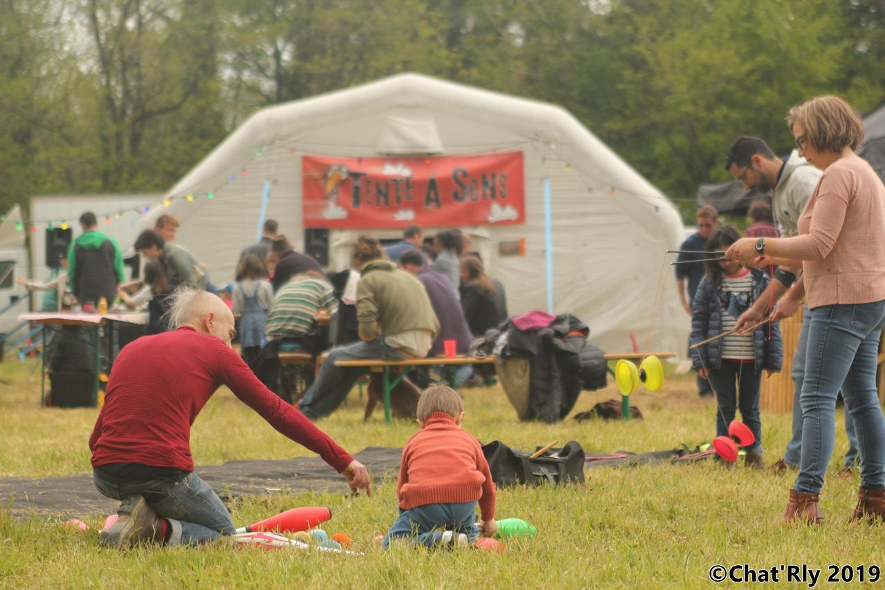 Le festival de La Tente à Sons à la Croix des Marins