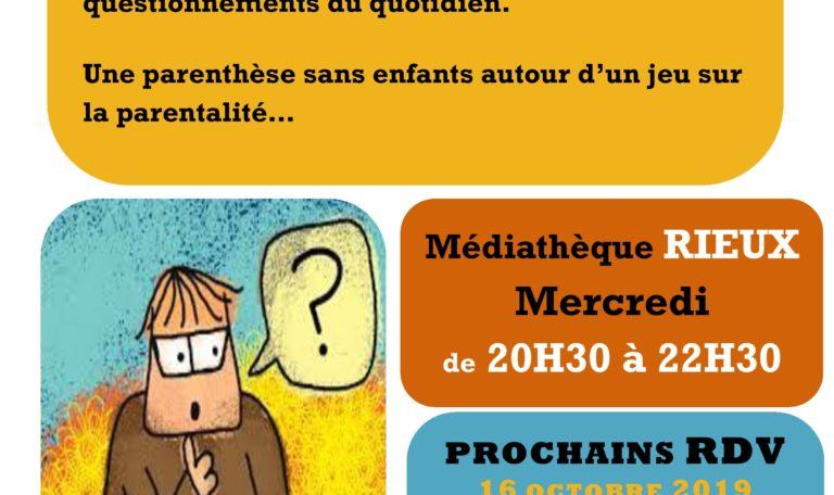 Rencontre (Entre parents) @ Médiathèque