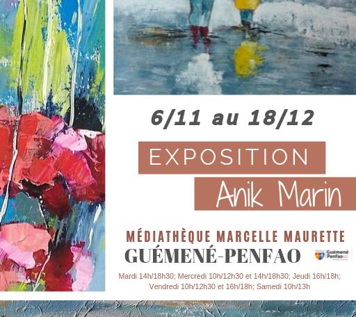 Exposition peintures @ Médiathèque