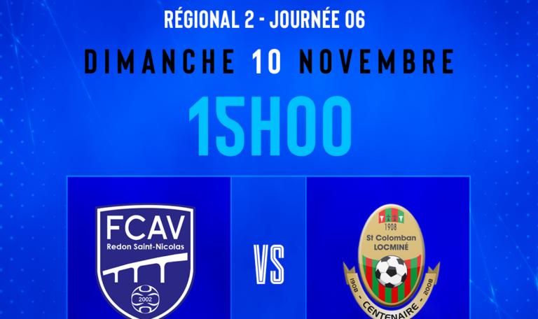 FCAV Redon 2- StCo. Locminé 2 @ Parc des sports