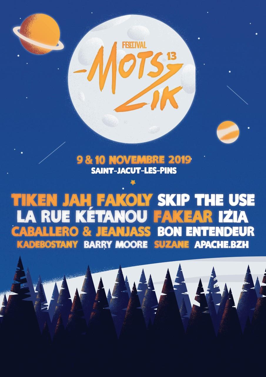 """Festival """"Mots-Zik sous les Pins"""" @ Salle des sports"""