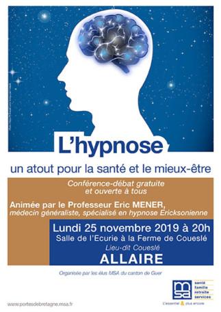 Conférence Hypnose Médicale @ Salle de l'Ecurie à la Ferme de Coueslé
