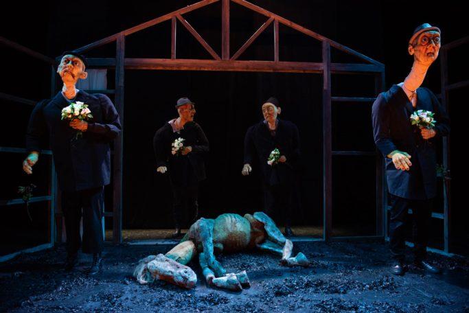 """Spectacle """"L'herbe de l'oubli"""" @ Le Canal théâtre"""