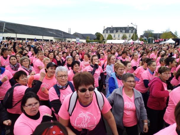 Octobre rose 2019 : 3000 participantes fières d'être là