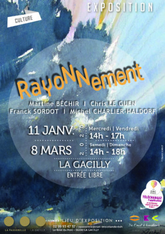 """Exposition """"Rayonnement"""" @ La Passerelle"""