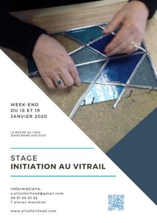 Initiation au vitrail @ La Roche du Theil