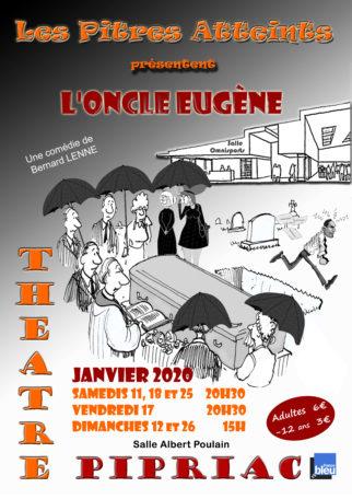 """Théâtre amateur : """"L'oncle Eugène"""" @ Salle Albert Poulain"""