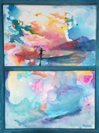 Atelier peinture intuitive @ Centre social