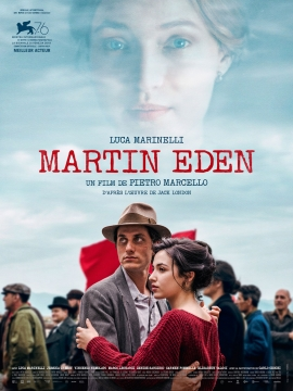 """Soirée spéciale SVE avec le film """"Martin Eden"""" @ Ciné Manivel"""
