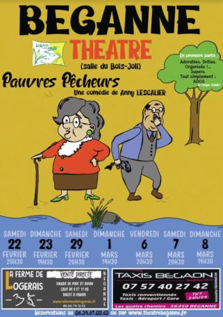 Théâtre amateur Béganne @ Salle du Bois Joli