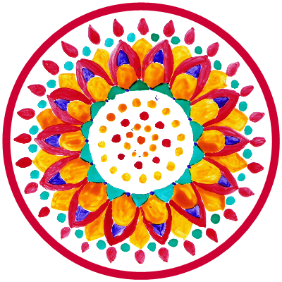 Atelier Mandala et méditation active @ Salle activités