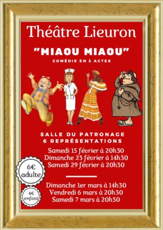 Théâtre Lieuron @ Salle du patronage
