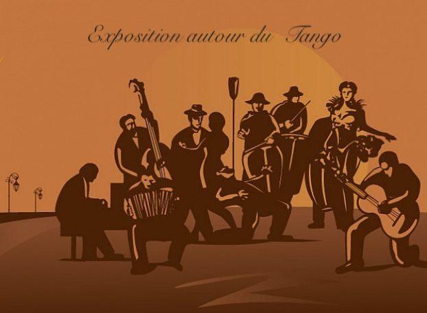 Exposition autour du tango @ maison des associations, 33 rue de Chateaubriant