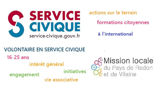 Expo-information Service civique @ Mission locale