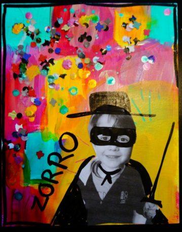 Stage de peinture créative enfant @ Atelier Vagabond