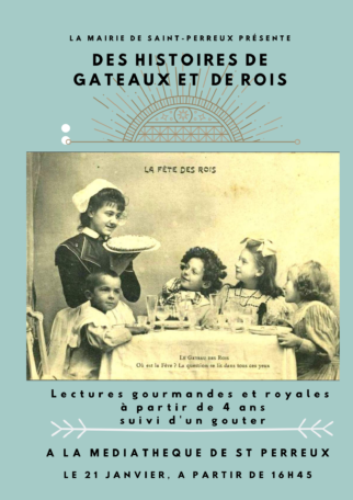 Lectures gourmandes et royales @ Mediatheque