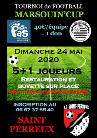 """Tournoi Foot """"Marsouin' Cup"""" @ Le stade"""