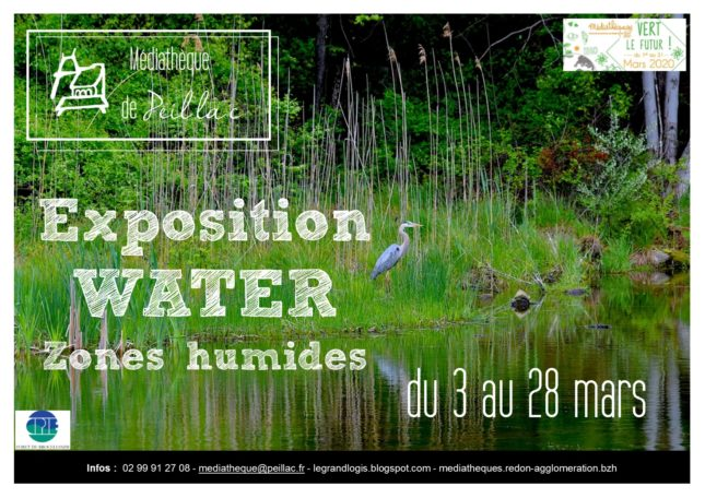 Exposition Water Zones humides @ Mediatheque Le Grand Logis