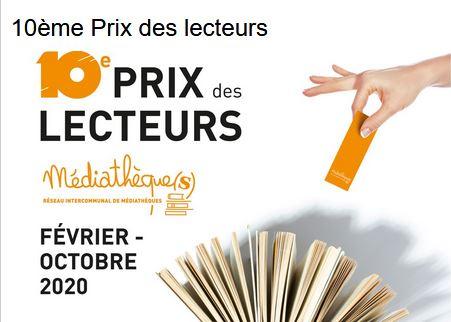 Présentation du 10eme Prix des Lecteurs à Allaire @ Médiathèque