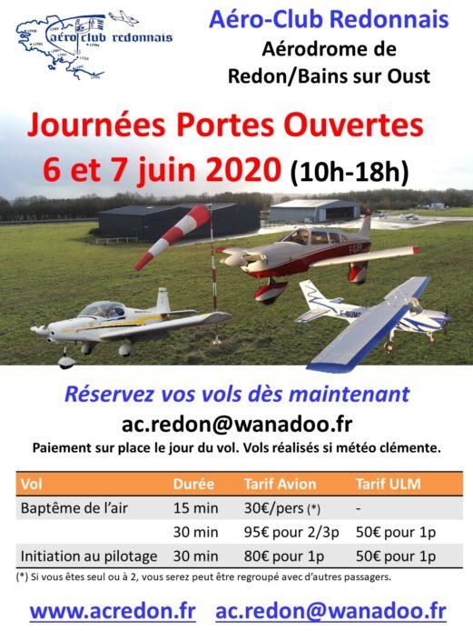 Portes ouvertes Aéro-Club Redonnais