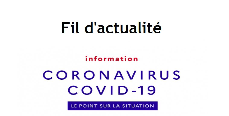Fil d'actualité Coronavirus / Pays de Redon
