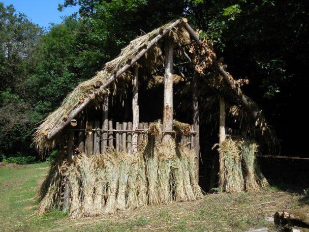 """""""Construire une maison comme il y a 6500 ans"""" @ Maison Mégalithes et Landes"""